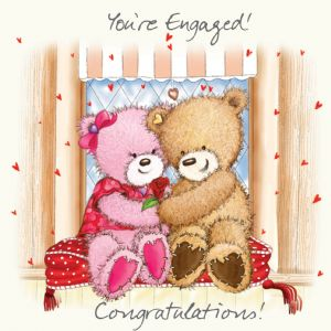 Engagement Card - You're Engaged